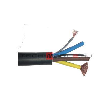 kábel - elektromos autó töltőkábel 3G6+2x0,5 fekete,  EV07EE-H
